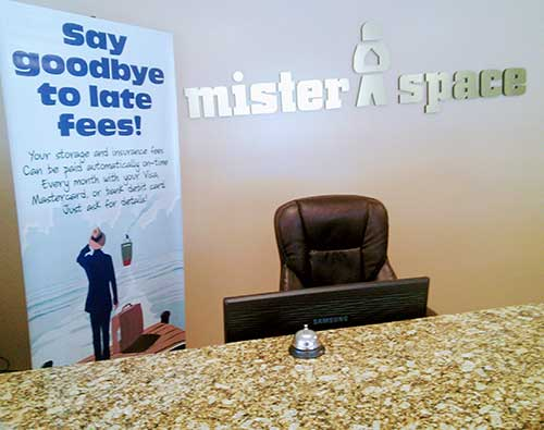 Mister Space Self Storage Front Office