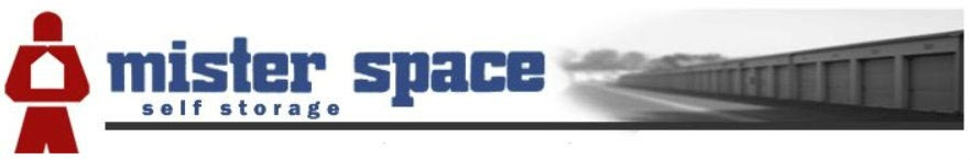 Mister Space Self Storage logo